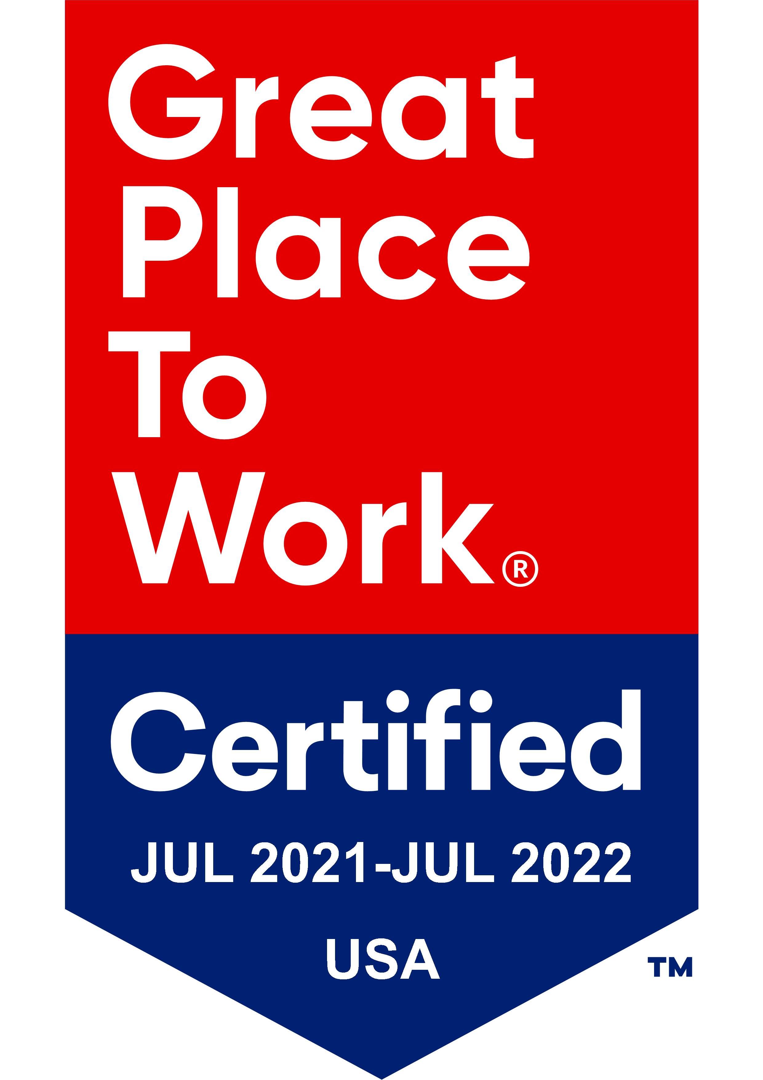 Great Places to Work Certified