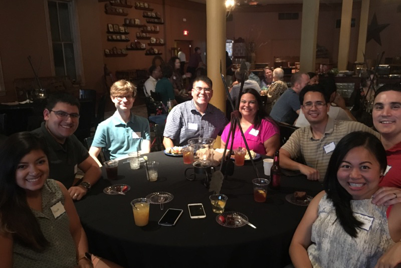 SRC employees in San Antonio, TX celebrated the company's 60th anniversary with dinner at the Buckhorn Saloon & Museum