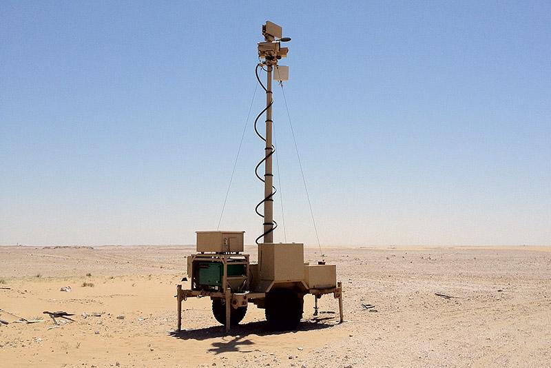 Sr Hawk Ground Surveillance Radar Src Inc